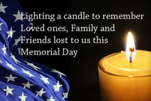 Memorial Day Candlelight Vigil